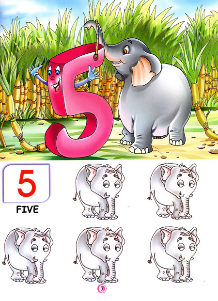 Printables English Conting 1to100 my friendly counting from 1 to 100 in picture book image 1