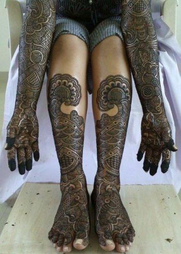 angebot golecha henna tube schwarz brosch re mit henna muster vorlagen ebay. Black Bedroom Furniture Sets. Home Design Ideas