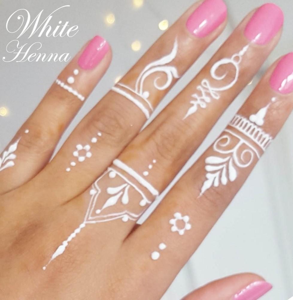 5x golecha white henna paste cones weisse kegel paste no. Black Bedroom Furniture Sets. Home Design Ideas