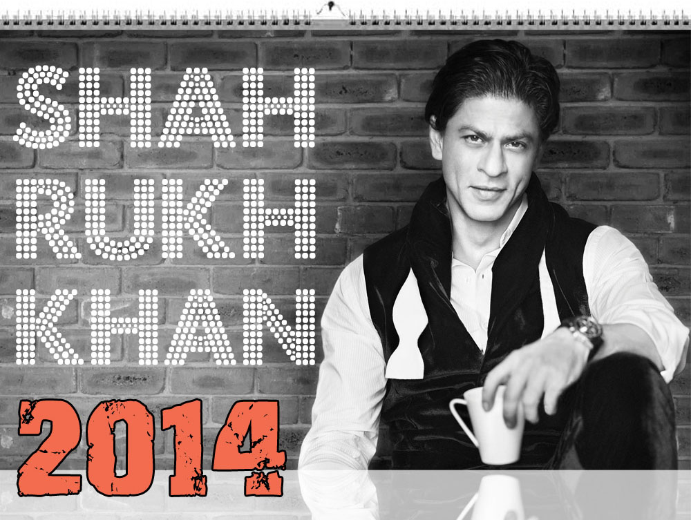 Shahrukh-Khan-Wandkalender-2014-A3-Format-SRK-Calender-13-Pages-colored