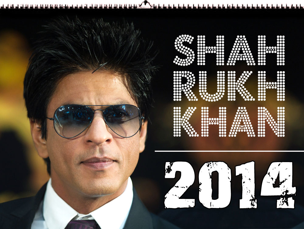 Shahrukh-Khan-Wandkalender-2014-A4-Format-SRK-Calender-13-Pages-colored