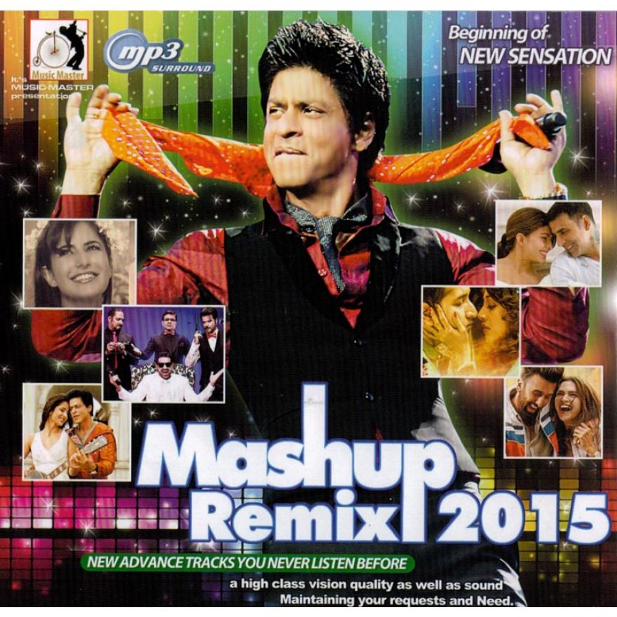 Mashup Remix 2015 - MP3 CD (70 Songs)