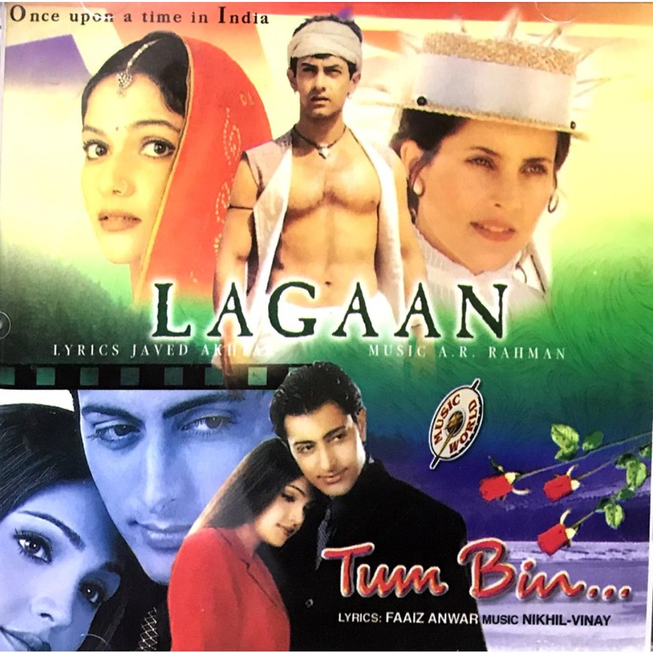 Lagaan + Tum Bin (Audio CD)