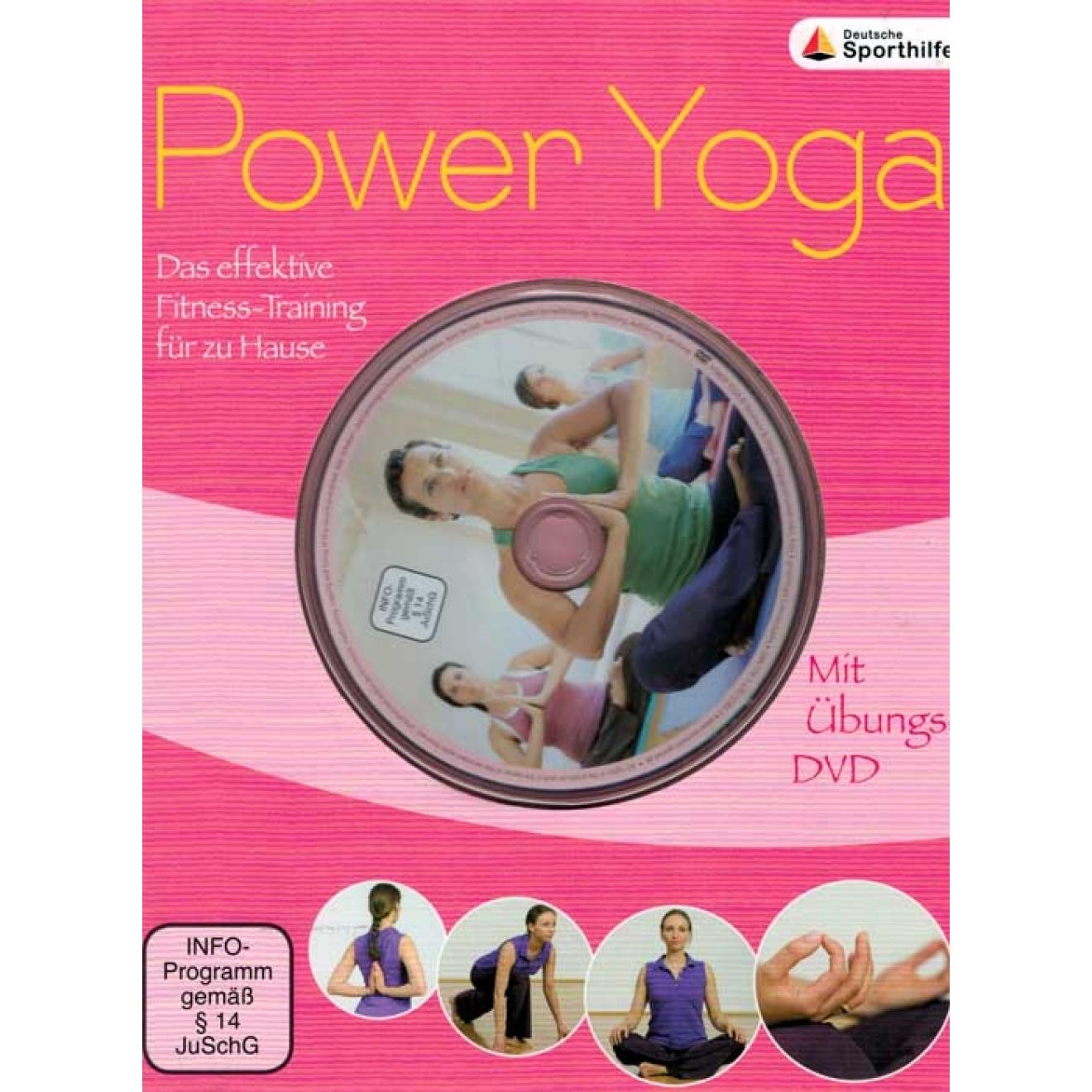 Power Yoga Das effektive Fitness Training für zu Hause