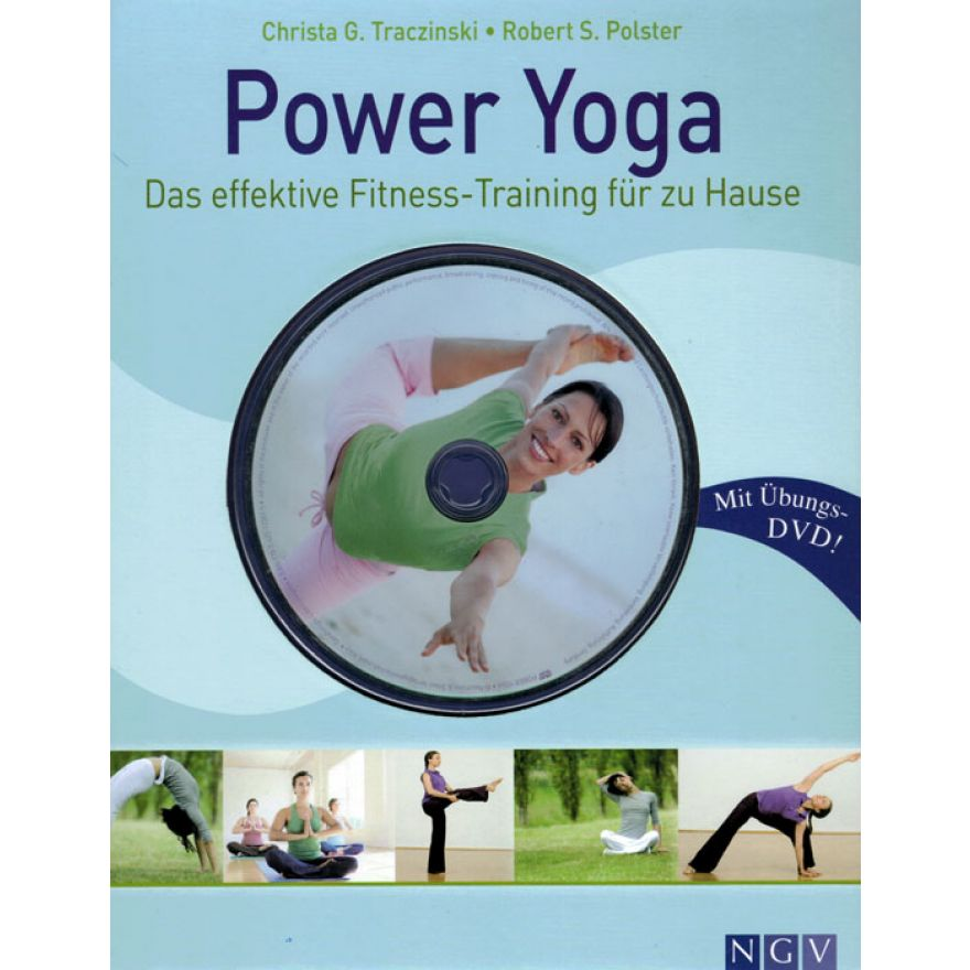 power yoga das effektive fitness training f r zu hause buch bungs dvd. Black Bedroom Furniture Sets. Home Design Ideas