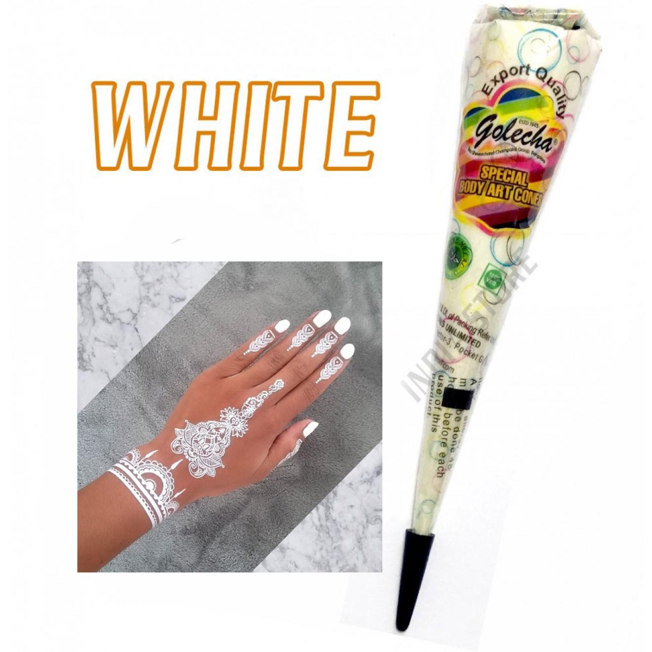 Golecha Henna Paste Black White