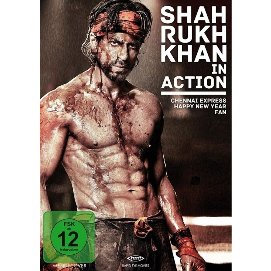 Shah Rukh Khan in Action (3 Filme auf 3 DVDs) Deutsche Sprache