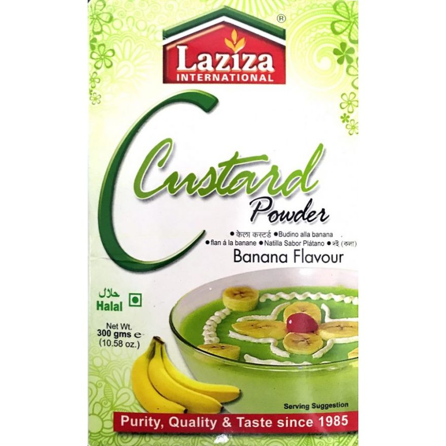 Laziza Custard Powder - Banana Flavour (300g)