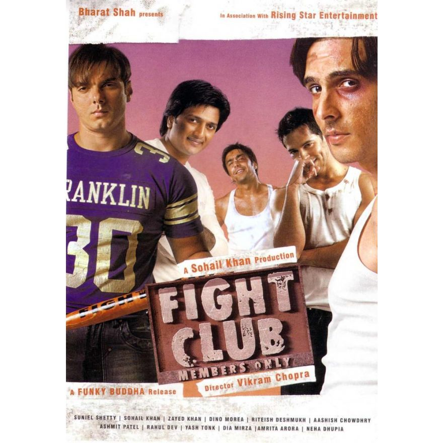 Zayed Khan In Fight Club Zayed Khan, Din...