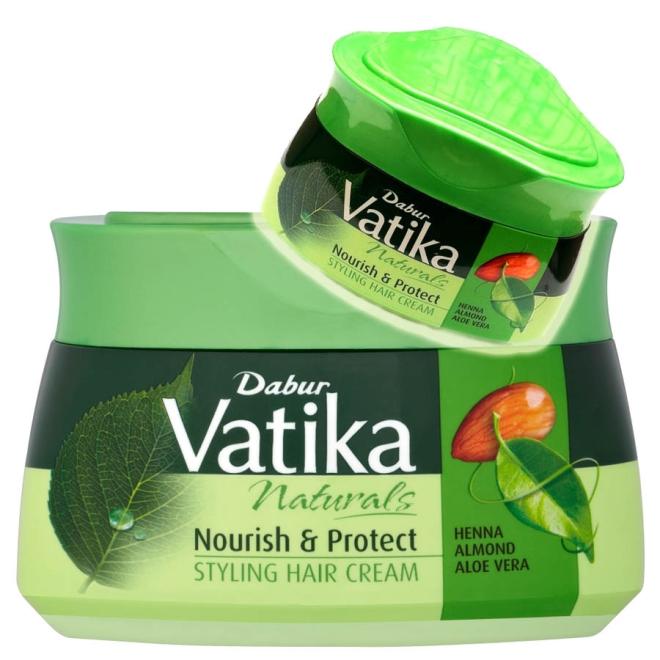 Dabur Vatika Naturals Styling Hair Cream India