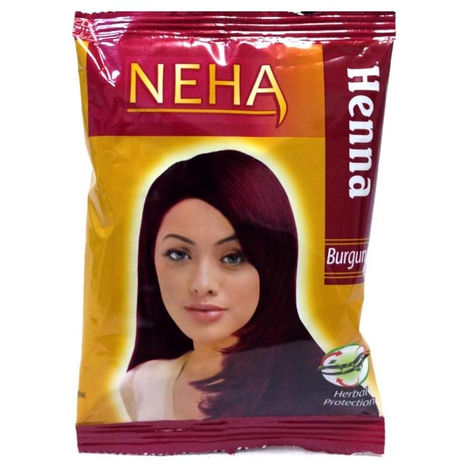 Neha Herbal Henna For Hair Dyeing Burgundy