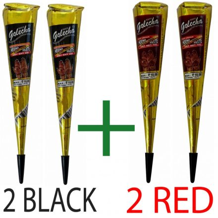 8299bba30 4 pcs. Golecha Henna Cones (Clinically tested)
