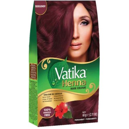 Vatika Henna Hair Colour Burgundy With Natural Extracts