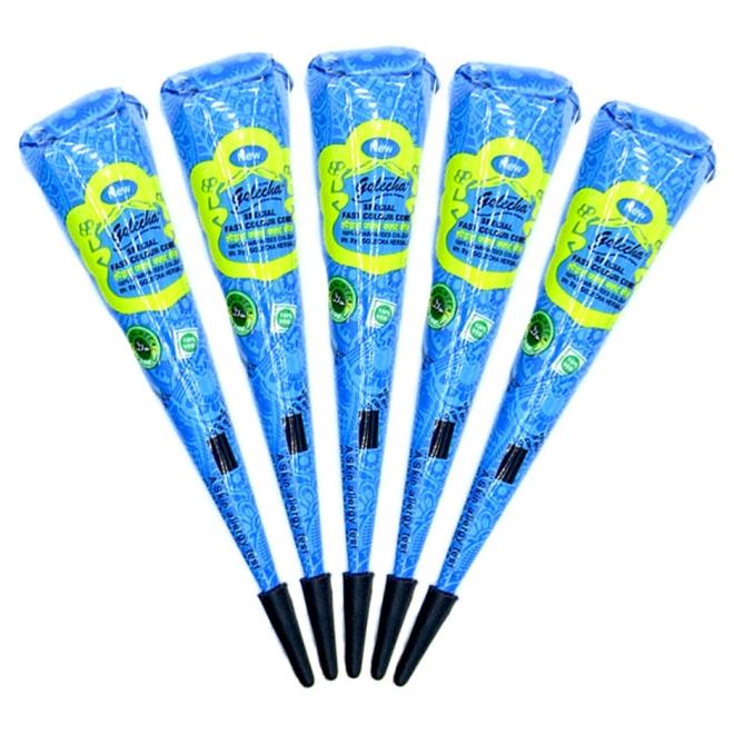 Golecha Special Magic Henna Paste Cones Blue