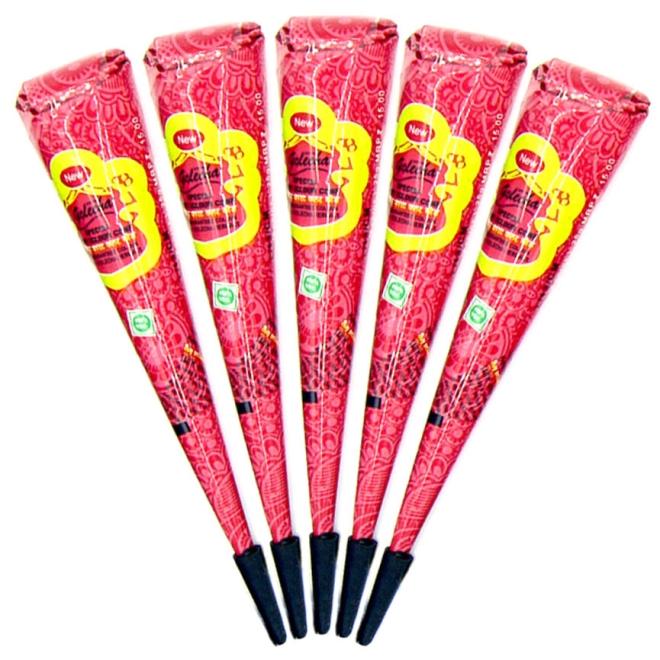 Golecha Special Magic Henna Paste Cones Red