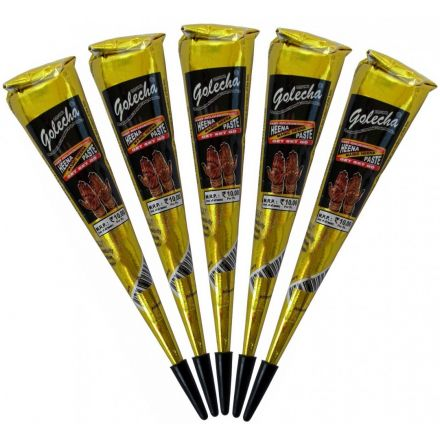 89b529b62 Golecha Special Magic Henna Cones - Clinically tested, No PPD (Black)