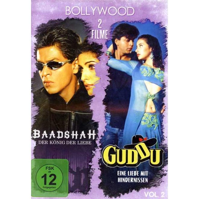 Bollywood 2 Filme Mit Shahrukh Khan Vol 2 Deutsche Sprache