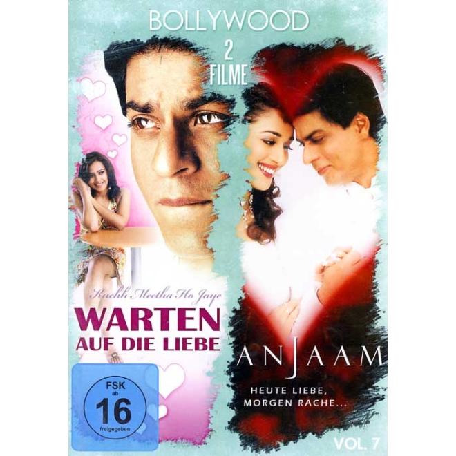 Bollywood 2 Filme Mit Shahrukh Khan Vol 7 Dvd Warten Auf Die