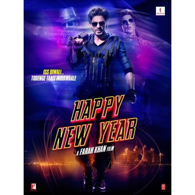 Happy New Year Dvd Deutsche Sprache Shahrukh Khan Deepika Padukone