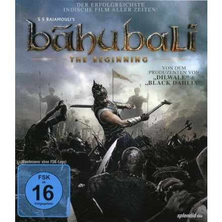 Baahubali The Beginning Dvd German Edition