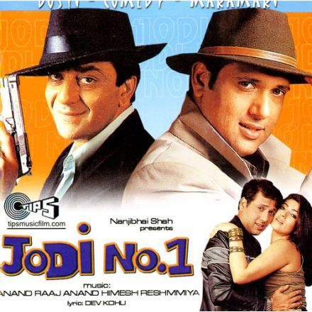 Jodi No.1 + 6 Bonus Tracks - Soundtrack (Govinda, Sanjay Dutt)