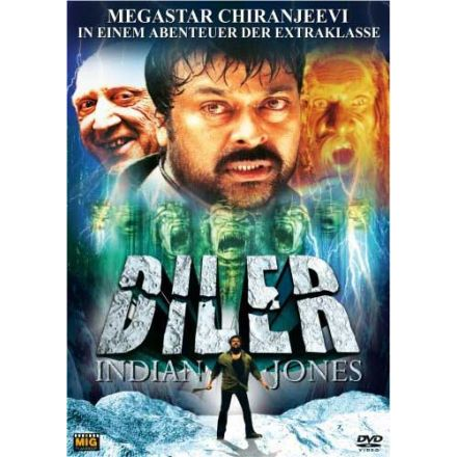 Diler - Indian Jones - DVD (Chiranjeevi   )