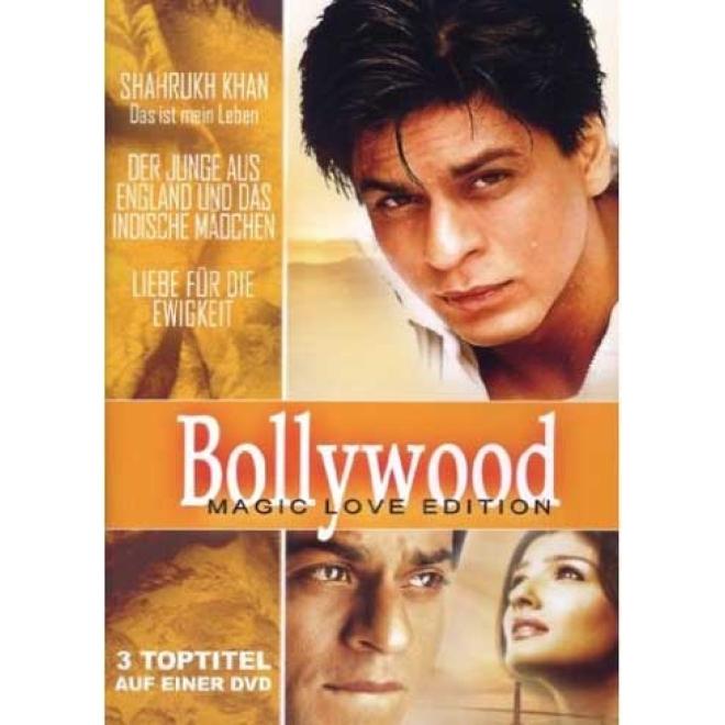 Bollywood Magic Love Edition 3 Filme Deutsche Sprache Shahrukh Khan