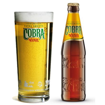 Cobra Premium Bier - Extra Smooth (5% Alk. / 330 ml) inkl. 0,25€ Flaschenpfand