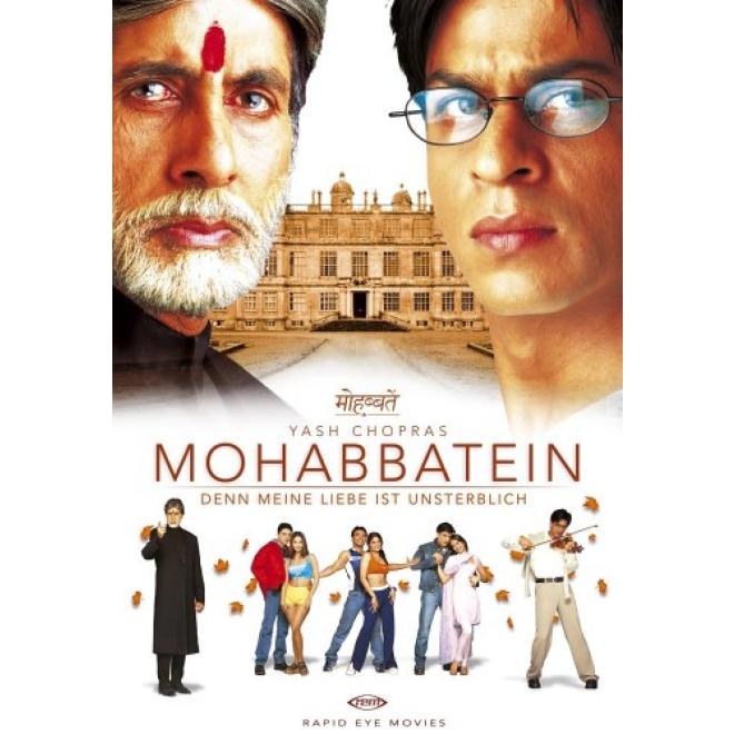 ec3c493fffbe Denn meine Liebe ist unsterblich - Mohabbatein (Deutsche Sprache) Shahrukh  Khan, Aishwariya Rai