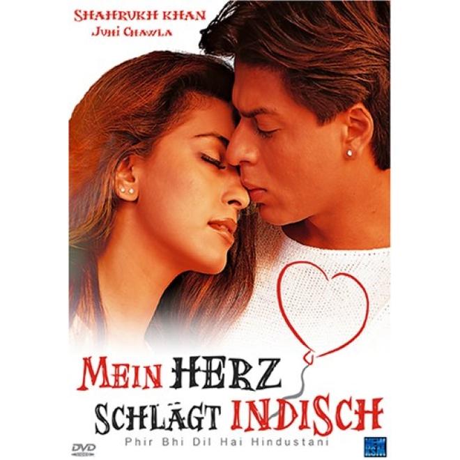 Mein Herz Schlagt Indisch Dvd Deutsche Sprache Shahrukh Khan
