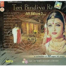 Teri Bindiya Re (Bollywood Songs) MP3 CD