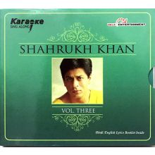 Shahrukh Khan - Karaoke CD mit Booklet (Vol.3)