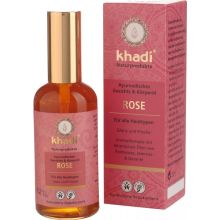 Khadi Ayurvedic Rose Face & Body Oil