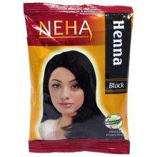 Neha Herbal Henna Hair Powder - Haarfärbemittel (Schwarz) 20g