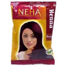 Neha Herbal Henna Powder - For Hair Dyeing (Burgundy) 20g