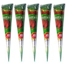 Neha Henna Paste Cones (Redbrown) 100% natural