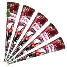 Golecha Henna Cones (100% Natural, No Mix, No PPD) Red-Brown