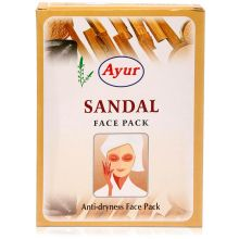 Ayur Herbal Face Pack - Sandal (Anti-dryness)