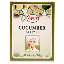 Ayur Herbal Face Pack - Cucumber / Gurke (Reinigende Gesichtsmaske)