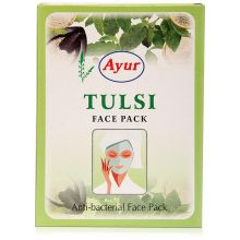 Ayur Herbal Face Pack - Tulsi (Antibakterielle Gesichtsmaske)