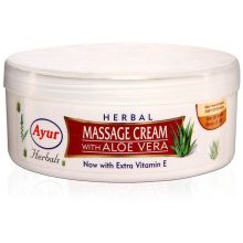 Ayur Herbal Massage Cream with Aloe Vera (80ml)