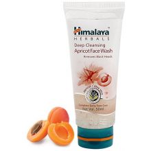 Himalaya Herbal Deep Cleansing Apricot Face Wash (Romoves Black Heads)