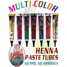 Golecha MultiColor Henna Paste TUBE (No PPD, No Ammonia)
