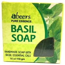 abeers Pure Essence Handmade Soap (BASIL) 110g