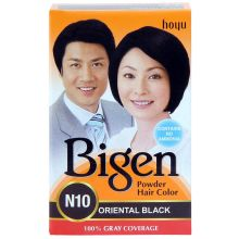 Bigen Permanent Powder Hair Color (Oriental Black) 6g