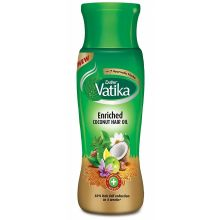 Dabur Vatika Enriched Coconut Hair Oil (with Henna, Amla & Lemon)