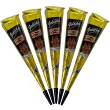 Golecha Special Magic Henna Cones - Clinically tested, No PPD (Black)