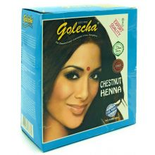 Golecha Natural Henna Hair Color - Chestnut (5x10g)