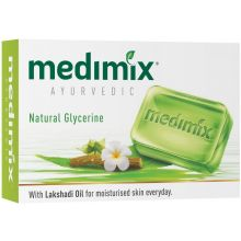 Medimix Ayurvedic Natural Glycerine Soap (With Lakshadi Oil) 125g