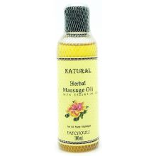 Natural Herbal Massage Oil (Patschuli) 100ml